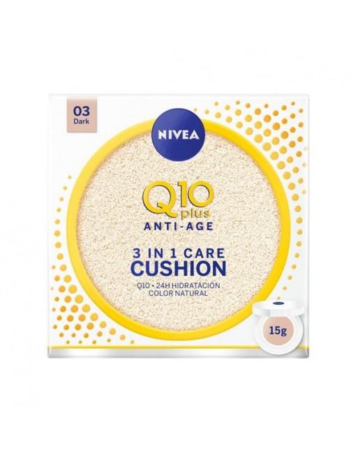 NIVEA Q10 CUSHION 3 EN 1 OSCURO 15 ML
