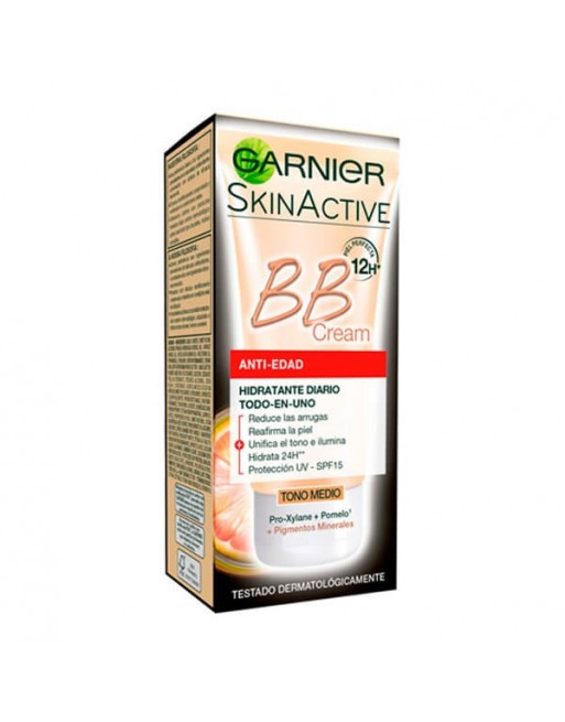 SKIN ACTIVE BB CREAM ANTI-EDAD MEDIO 50 ML