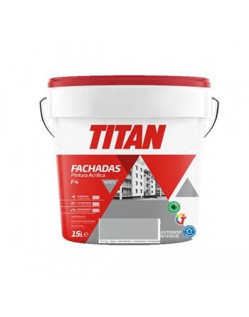 Pintura fachadas titan arcilla