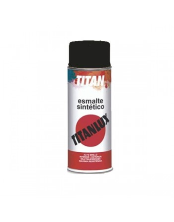 Titan spray negro mate