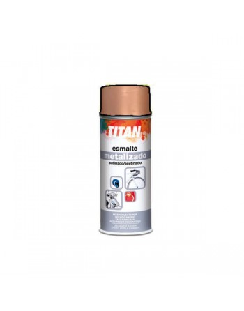 titan spray metalizado bronce