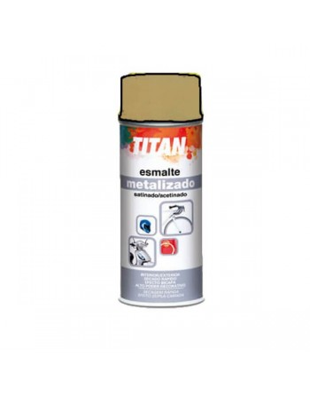 titan spray metalizado oro