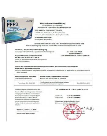 MASCARILLAS FFP3 1 UN