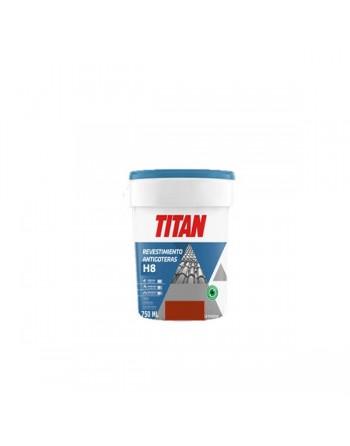 Titan revestimiento antigoteras rojo teja