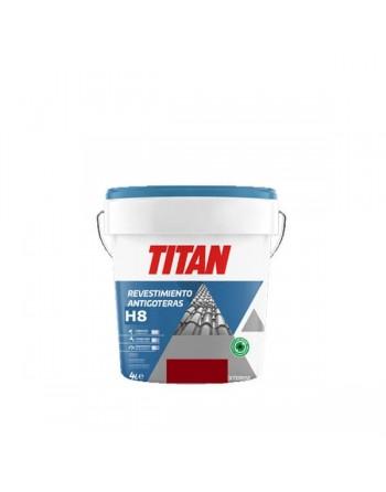 Titan revestimiento rojo ingles