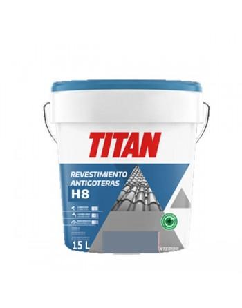 Titan revestimiento antigoteras gris 15 L
