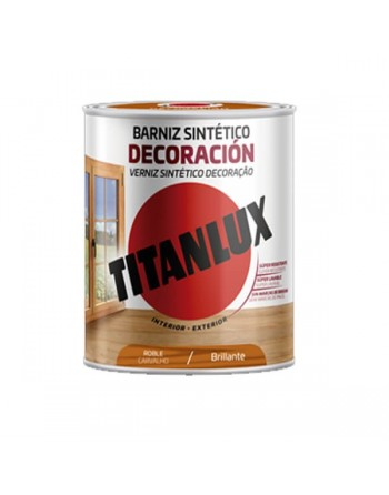 Titanlux barniz tinte roble 750 Ml