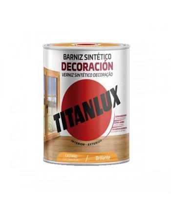 Titanlux barniz tinte castaño 750 Ml
