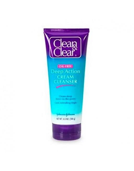 CLEAN CLEAR GEL FACIAL CREMOSO 200 ML
