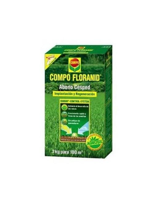 FLORANID ABONO CESPED IMPLANT.2,5 KG.