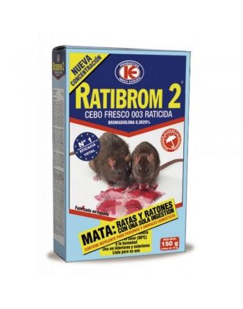 RATIBROM 2 RATICIDA 150 GRS