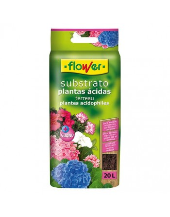 FLOWER SUSTRATO ACIDAS 20 L
