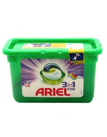 ARIEL EXCEL TABS 12+1