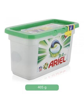 ARIEL EXCEL CAPS 15 LAV.