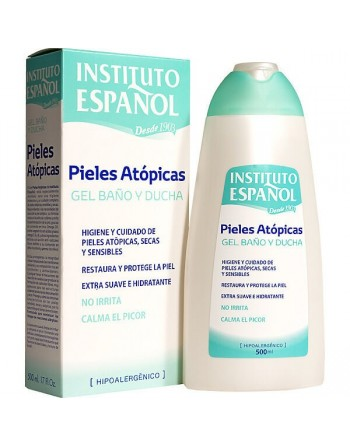 INSTITUTO ESPAÑOL GEL P.ATOPICAS 500 ML