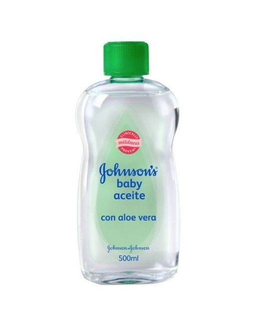 JOHNSONS BABY ACEITE ALOE 500 ML