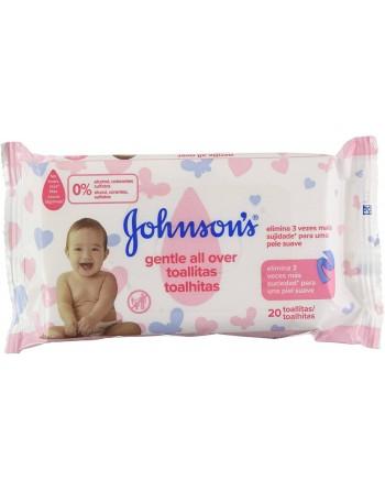 Johnsonons Baby Toallitas 20un