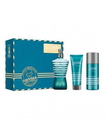 LE MALE EDT 125 ML+GEL+DEO