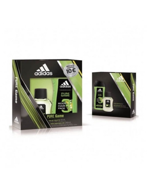 ADIDAS PURE GAME EDT 50 ML+GEL 250 ML