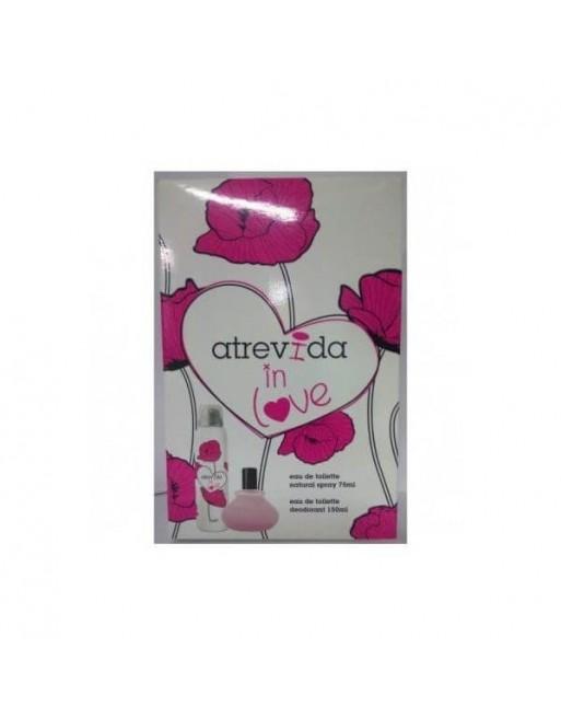 ATREVIDA IN LOVE EDT 75 ML+DEO 150ML