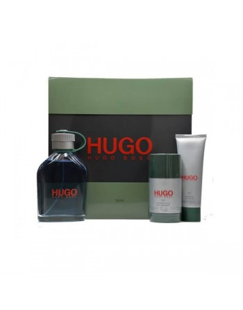 HUGO EDT 125 ML+DEO 75 ML+GEL 50 ML