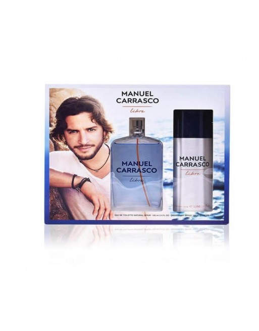 MANUEL CARRASCO EDT 100 ML+DEO 150 ML