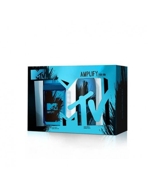 MTV AMPLIFY MAN EDT 75 ML+DEO 200 ML