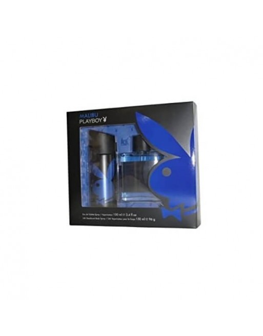 PLAYBOY MALIBU EDT 100 ML+DEO