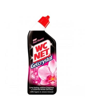 WC NET LEJIA GEL CRISTAL ROSA 750 ML