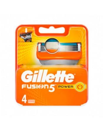 Gillette fusion 5 power recambio 4 unidades
