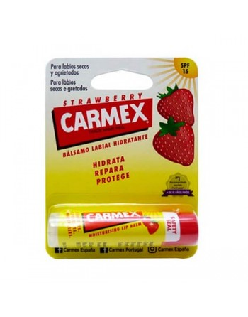 Carmex balsamo labial fresa stick